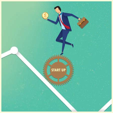 business start up concept