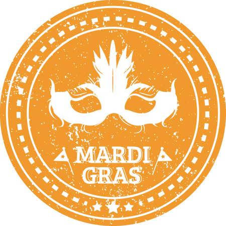 Mardi gras design.