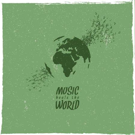 Music heals the world.