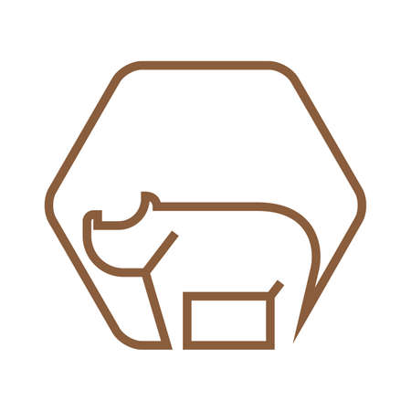 Rhinoceros icon.