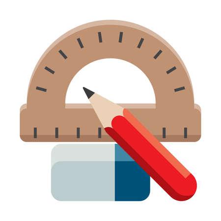 removing: stationery set Illustration