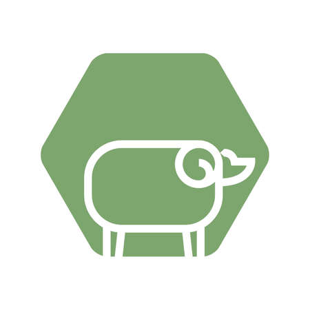 sheep icon Ilustrace