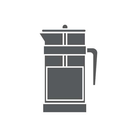coffee french press Illustration