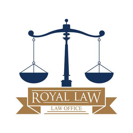 royal law logo element