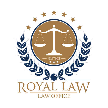 royal law logo element