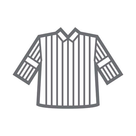 formalwear: referee uniform Illustration