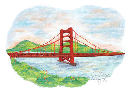 the golden gate painting