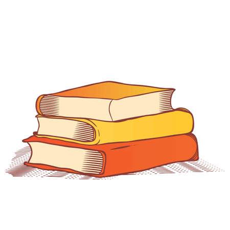 stack of books Ilustrace