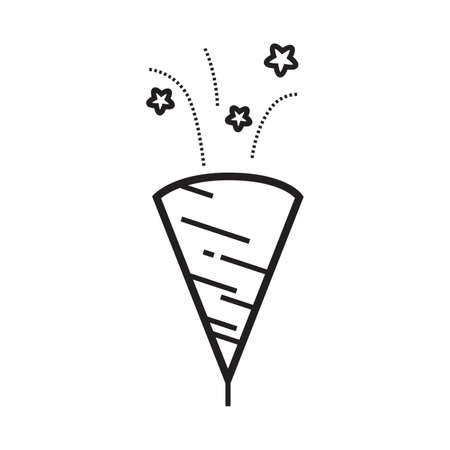 party confetti poppers Illustration