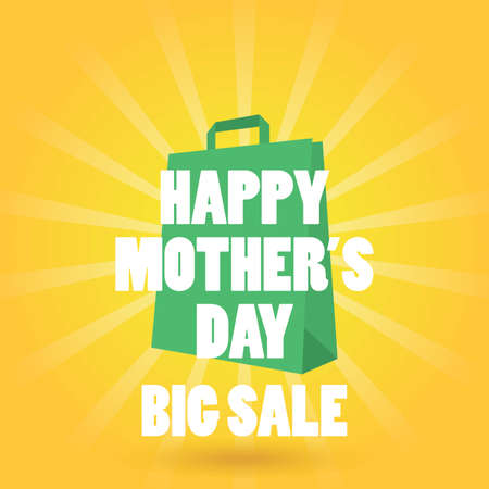happy mothers day sales concept