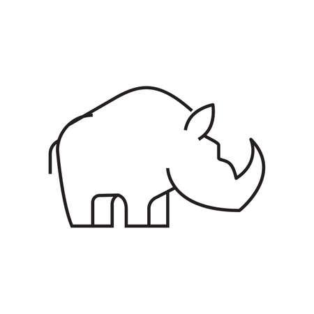 Rhinoceros icon.