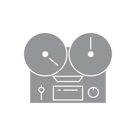 remix: Turntable icon.