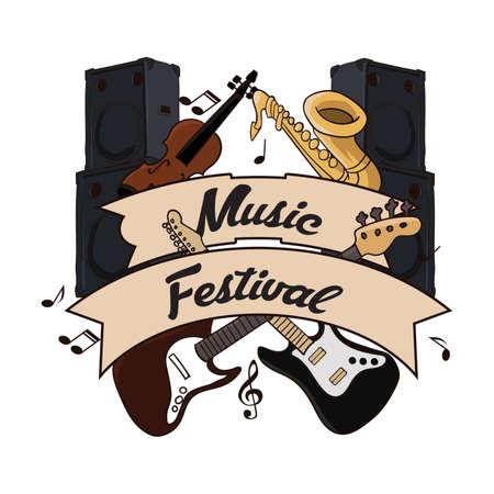 festival de musique avec des instruments