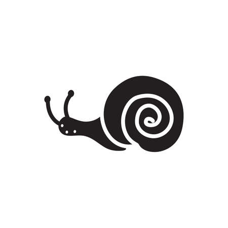 Snail icon Illustration