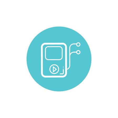 storage device: Mp3 player icon
