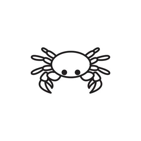 crab icon Vetores