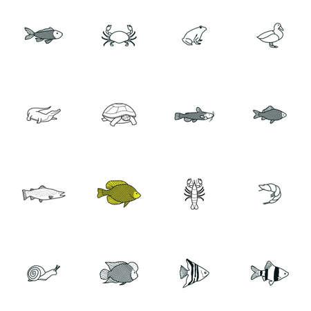 humphead: Set of animal icons
