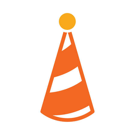 Party conical hat icon