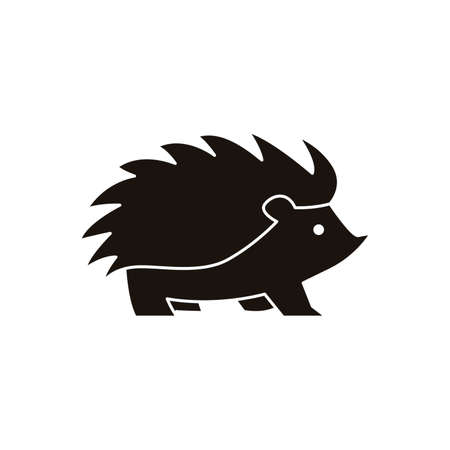 Hedgehog icon Illustration
