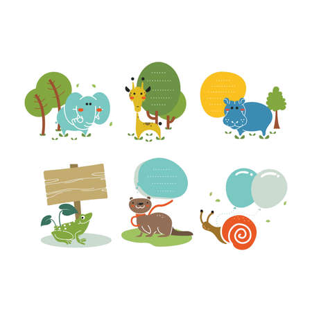 animals in nature icon pack
