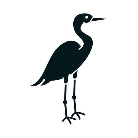 wader: Crane icon