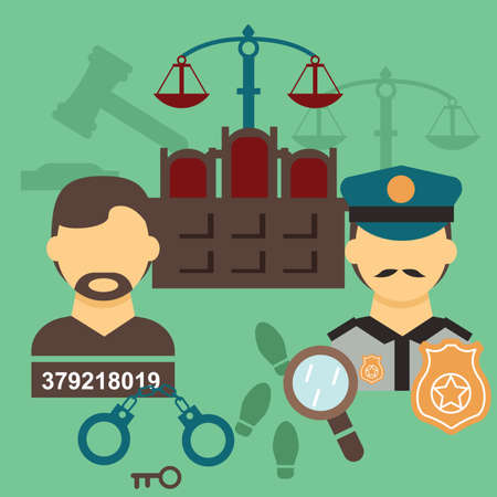 handcuffs: law elements design