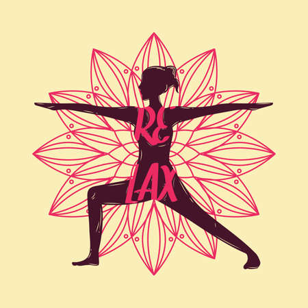 yoga design Illustration
