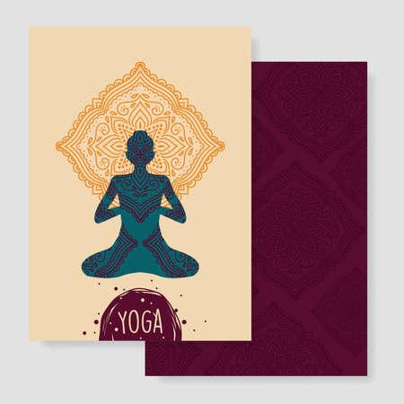 yoga design Çizim