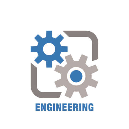 engineering subject icon 向量圖像