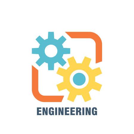 engineering subject icon Illustration