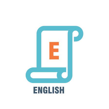 english subject icon Иллюстрация