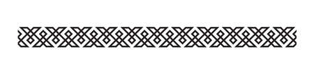 welsh pattern border design
