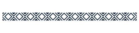 abstract rhombus pattern border design Illustration