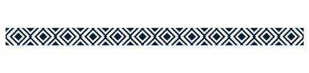 square pattern border design Illustration