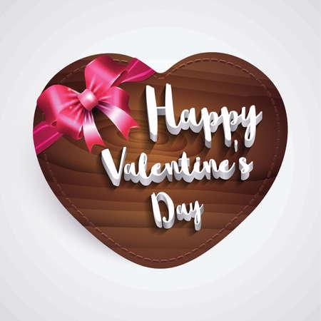 happy valentines day greeting 向量圖像