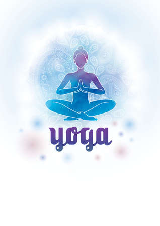 yoga design Illustration