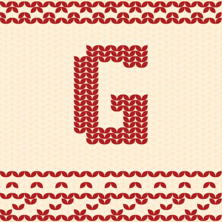 Letter g Illustration