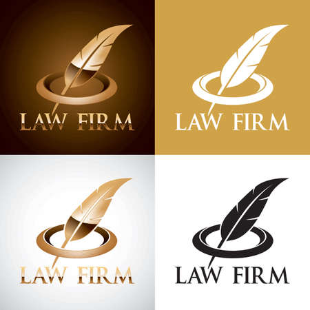 law firm logo elements