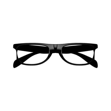 folded spectacles Ilustração