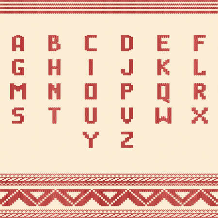 アルファベットのアイコンのセット  イラスト・ベクター素材