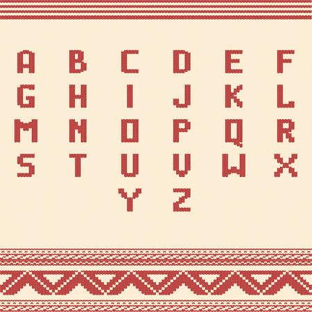 set of alphabet icons Stock Vector - 76872879