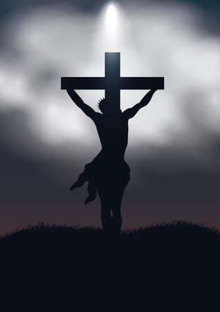 crucifixion Ilustrace