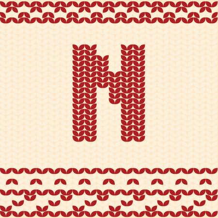 Buchstabe n Standard-Bild - 76872312