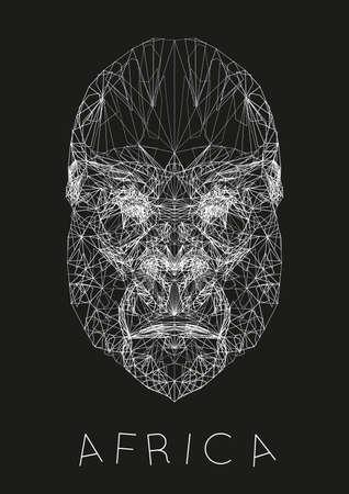 Africa concept Иллюстрация