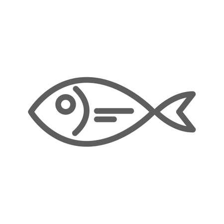scale icon: Fish Illustration