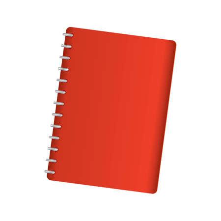 Spiral notebook Illustration