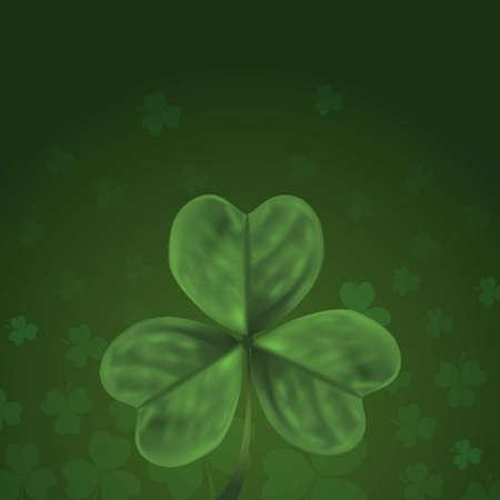 Three leaf clover design