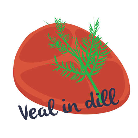 finnish: veal in dill