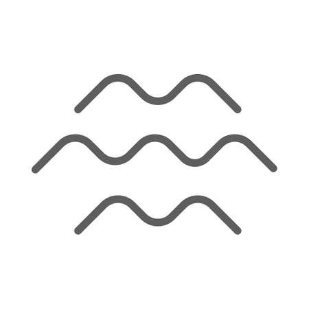 mountain ranges icon Illustration