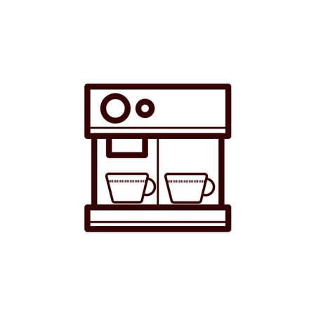Coffee machine Çizim